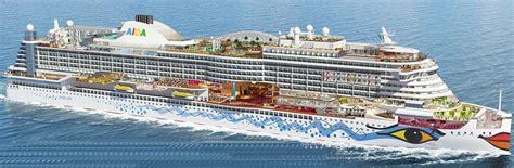 anzahl passagiere aida prima kategorien und kabinen des schiffs aidaprima aida