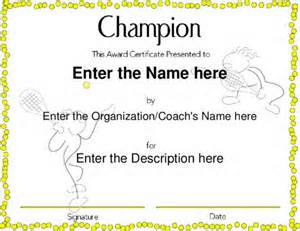 award certificate templates