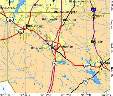 waxahachie texas map the cheese reporter 10 04 11