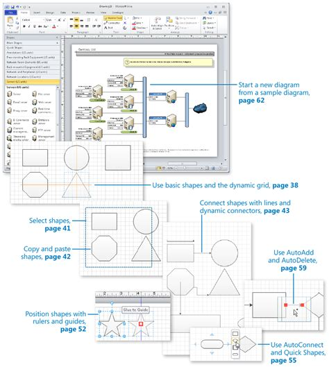 how to learn visio 2 creating a new diagram microsoft 174 visio 174 2010 step