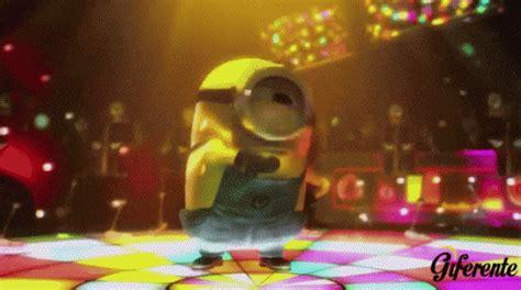 imagenes minions bailando minions con movimiento