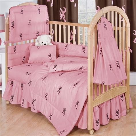 Pink Camo Crib Bedding by Camo Bedding Buckmark Pink Crib Bedding Camo Trading