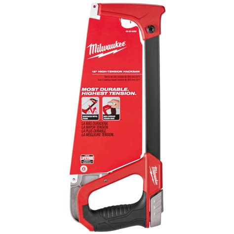Fleet High Tension Frame 5 milwaukee 12 in high tension hacksaw by milwaukee at