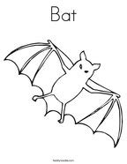 coloring page of a vire bat halloween coloring pages twisty noodle