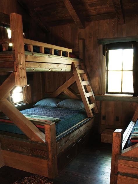 Image Gallery Hunting Cabin Bunk Beds Cabin Bunk Beds For