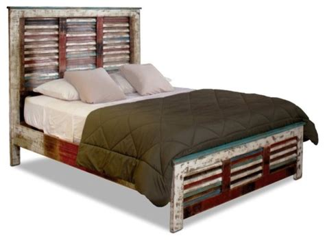 beach style beds solid wood distressed style bed beach style panel beds