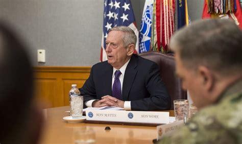 james mattis syria defense secretary mattis won t admit us military presence