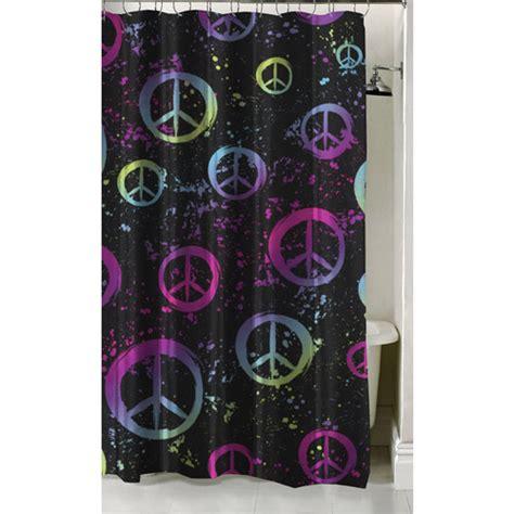peace curtains latitude peace paint shower curtain 70 quot x 72 quot walmart com