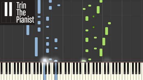 tutorial piano divenire ludovico einaudi divenire synthesia piano tutorial