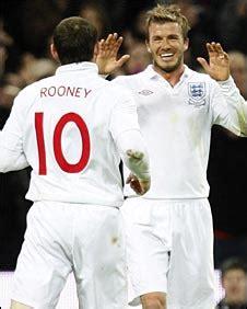 Beckham Snaps Up Seconds by Sport Football Internationals Beckham Reaches