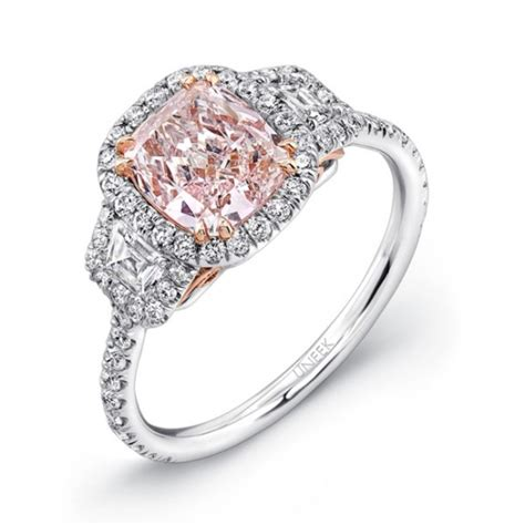 most unique jewelry with pink diamonds