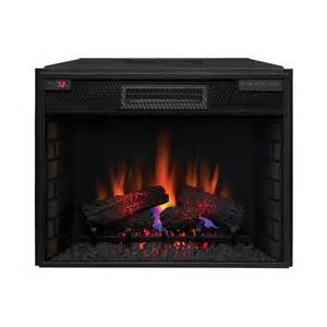 Fireplace Insert Electric Classicflame 28in Infrared Electric Fireplace Insert 28ii200gra