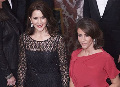 princess mary of denmark new bangs princess mary and princess marie attended fredensborg