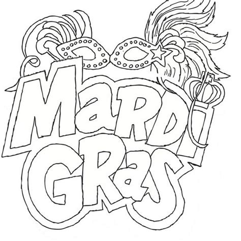 mardi gras coloring sheet coloring beach screensavers com