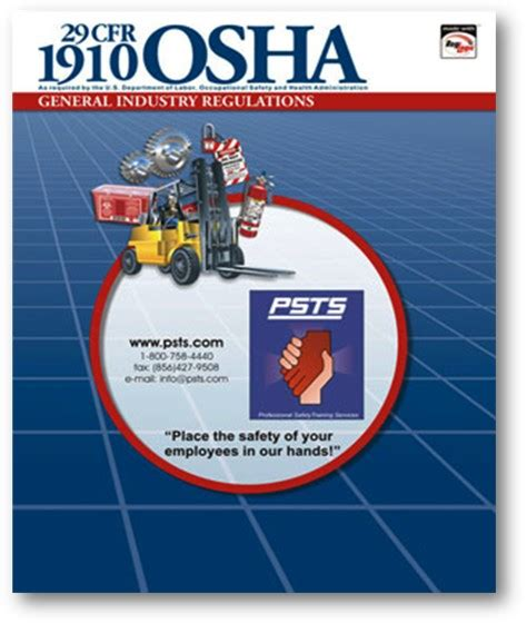 prevention and osha compliance books psts professional safety services inc