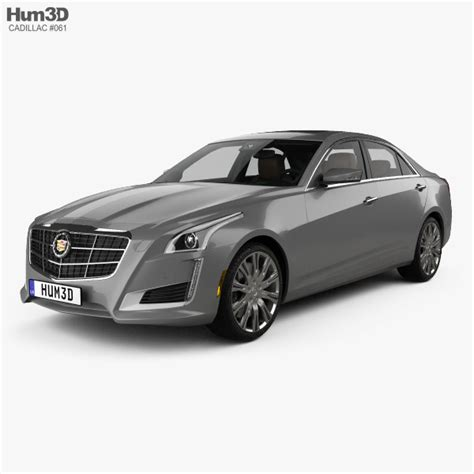 Cadillac Cts 2014 Interior by Cadillac Cts With Hq Interior 2014 3d Model Vehicles On