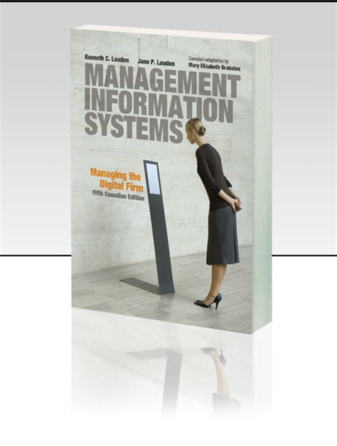 management information systems managing the digital firm books pearson canada kenneth c laudon p laudon
