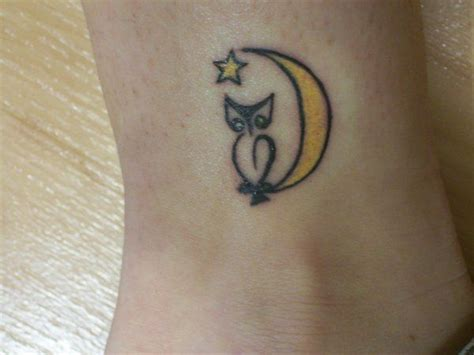 simple owl tattoo owl tiny and simple