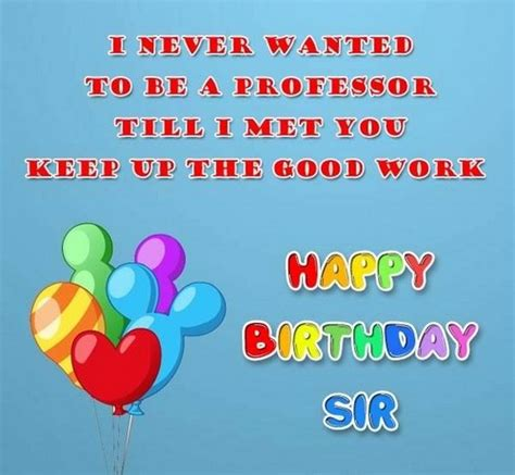 Happy Birthday Wishes To Professor 35 Cute Happy Birthday Professor Wishes With Images