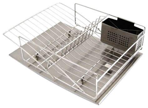 zojila rohan stainless steel dish rack drain board and
