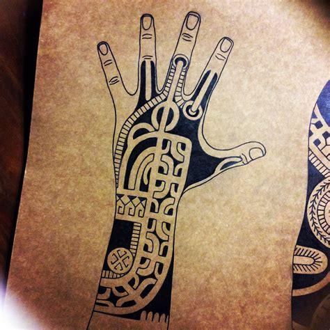 marquesan tribal tattoo marquesan tatatu polynesian tribal