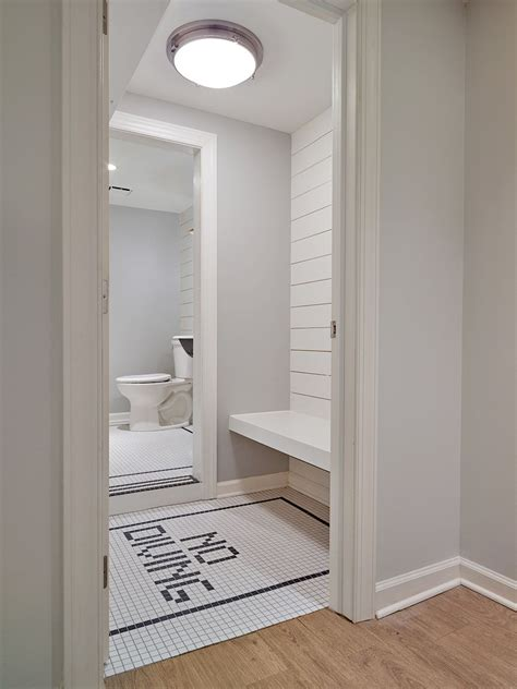 nautical tiles for bathroom nautical changing room for pool house with white ship lap