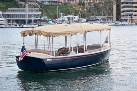 duffy electric boats long beach 18 snug harbor by duffy boats electric cruising boat