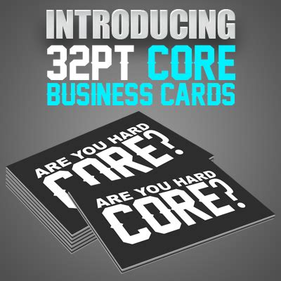32pt Business Cards