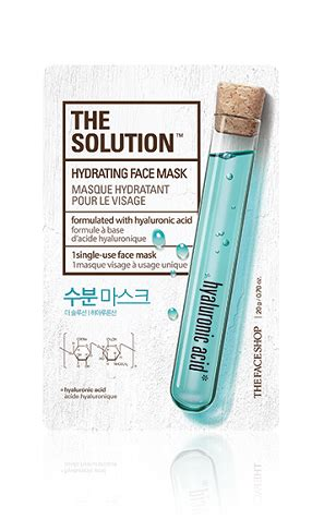 The Shop Solution Mask 9 best moisturizing masks for your sensitive and skin styles at