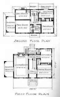 Center Colonial Floor Plan Instant House Sears Homes