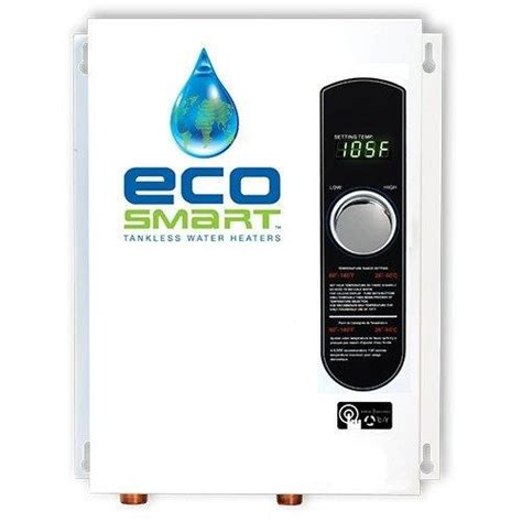 Apartment Size Tankless Water Heater Ecosmart Eco 18 Electric Tankless Water Heater 18 Kw 2
