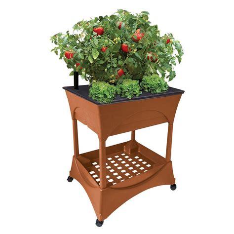 emsco easy pickers raised garden grow box  stand