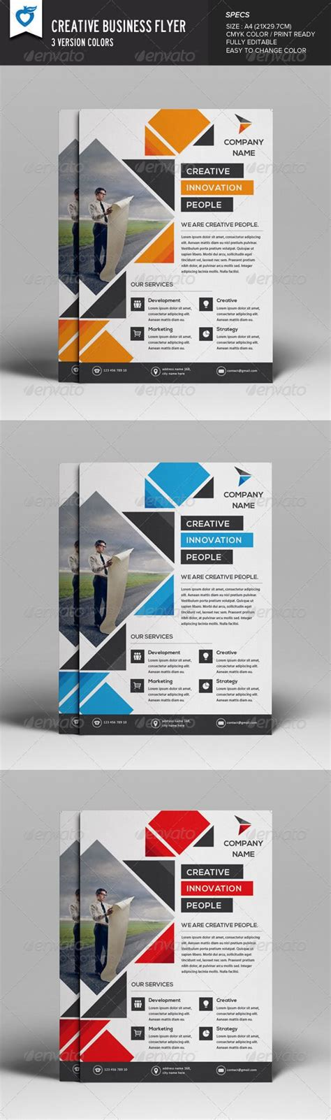 creative flyer design graphicriver flyer creative pictures and design