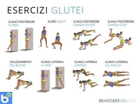 esercizi per dimagrire cosce e sedere esercizi per rassodare i glutei