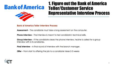 Bank Of America Consumer Banking Mba Program Salary by How To Prepare For The Teller Customer Service