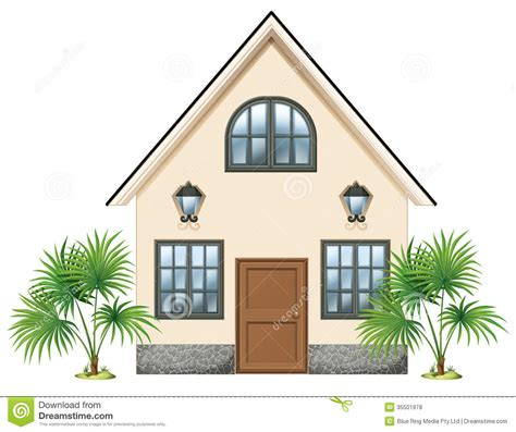 basic house a simple house royalty free stock photos image 35501878