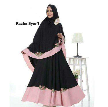 N Fc Raudah Syari I Black Fashion Wanita Murah 1 jual razha black baju gamis syari muslimah di lapak ayuni