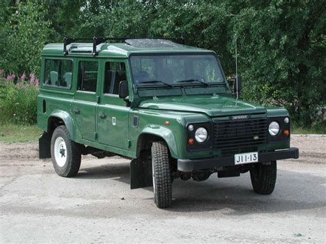 land rover green land rover defender review and photos