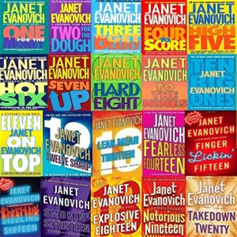 twenty four a plum novel books lot of 20 janet evanovich plum complete