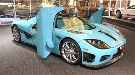 koenigsegg car blue one off turquoise koenigsegg ccxr for sale in dubai