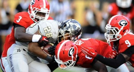 dawg house uga georgia s road win over vandy pushes bulldogs forward in ap top 25