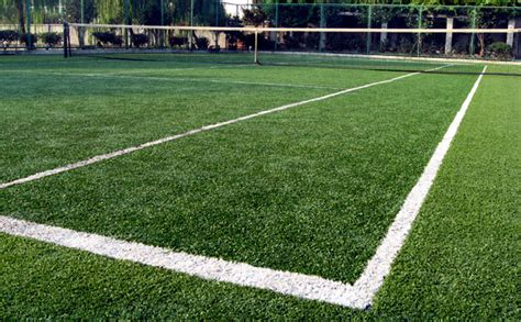 artificial grass for tennis courts for pros and amateurs