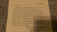 Vbs Closing Letter To Parents This Letter To Invite Parents To The Closing Program For Investigation Station Galactic
