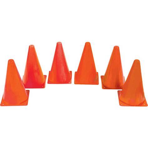 cone walmart 9 quot orange spectrum soccer cones walmart