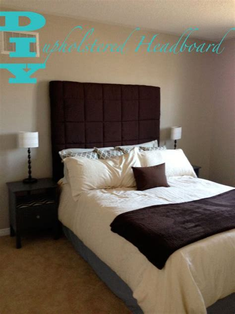 diy padded headboard projects home decor project ideas diy projects craft ideas