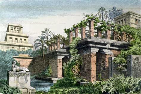 imagenes de jardines antiguos lista las 7 maravillas de mundo antiguo
