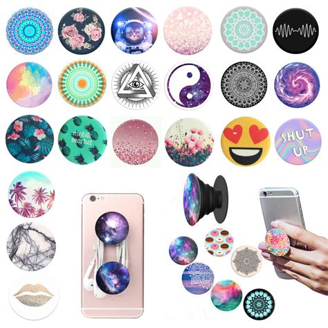 Iphone 7plus Animal Ring popsocket pop all grip sockets stand phones tablet