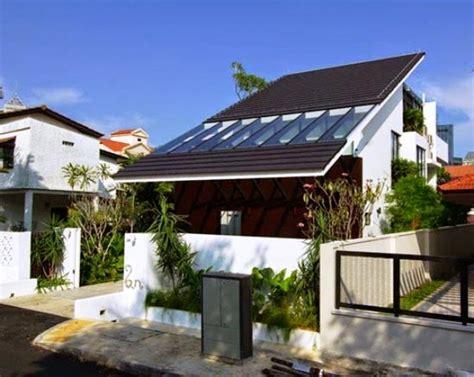 Kaca Depan 2 model atap rumah kaca minimalis