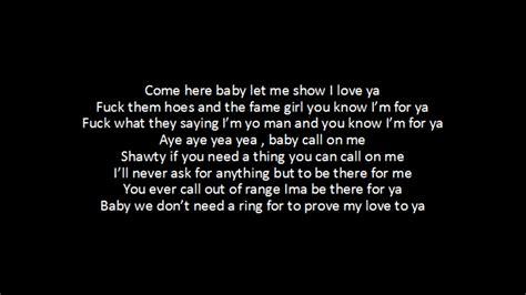 Lyrics To Mba Youngboy by Nba Youngboy Call On Me Lyrics