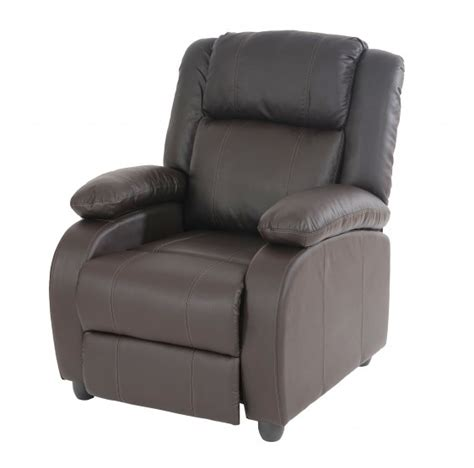 fauteuil tv fauteuils chaise tv fauteuil inclinable fauteuil lincoln similicuir caf 233